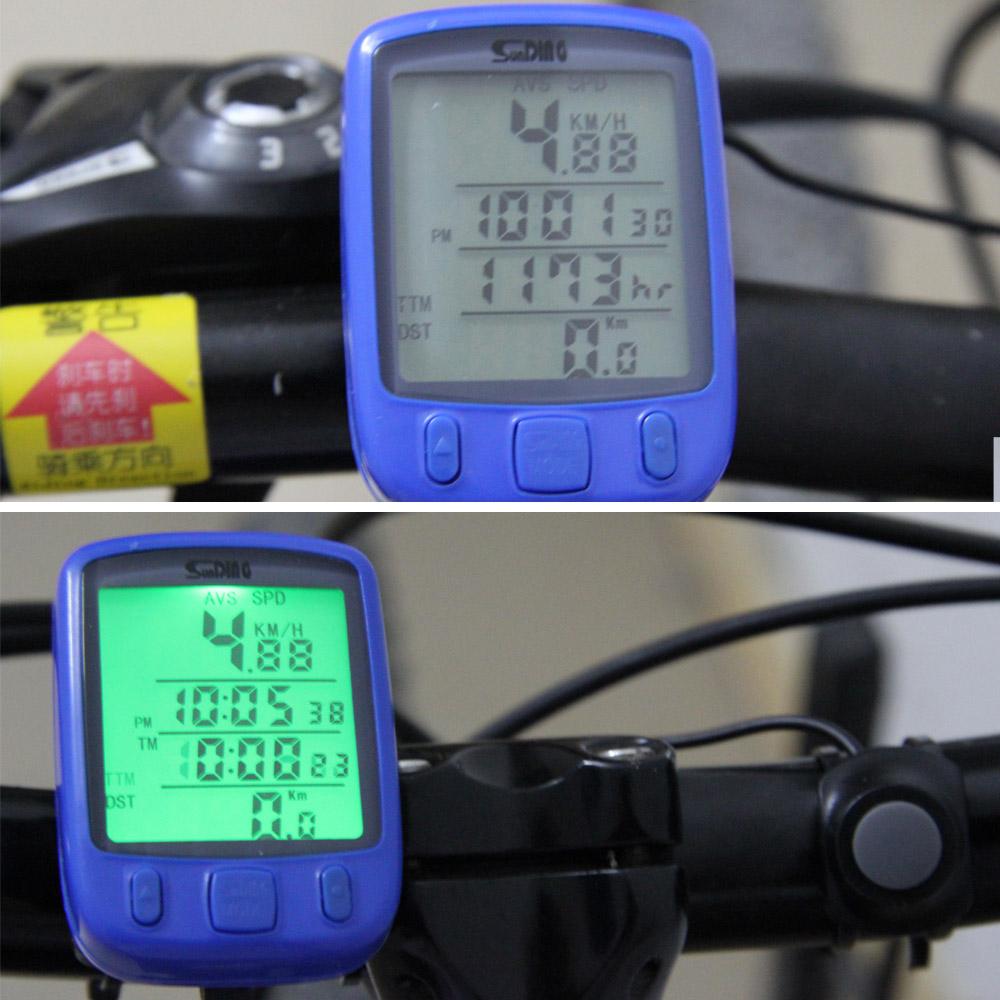 купить  Датчик скорости для велосипеда OEM LCD Speedometer  недорого