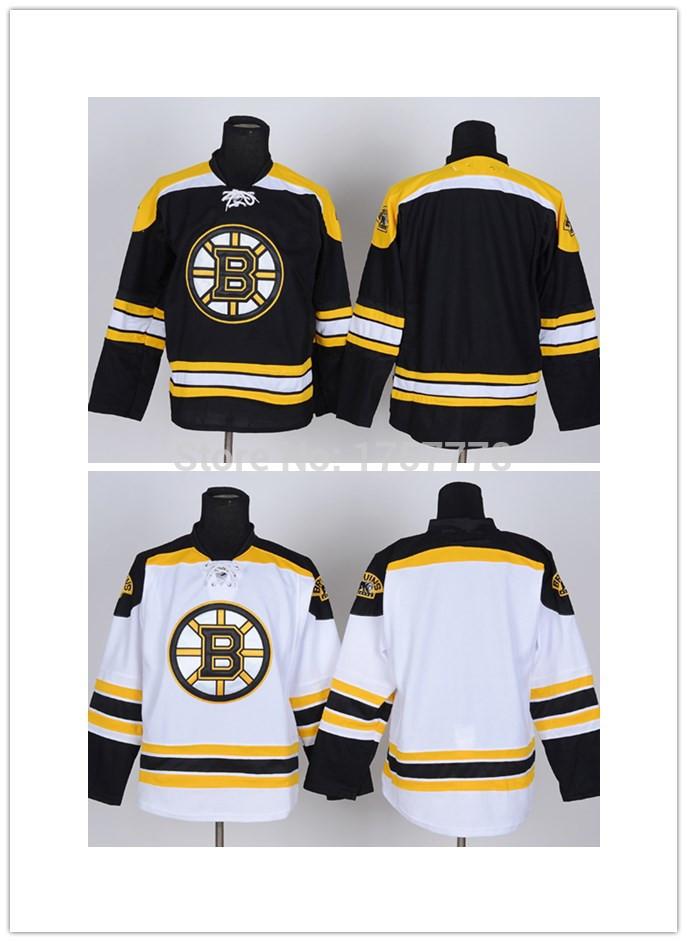 Chandail de Hockey des Bruins de Boston maillots vierges, Pas cher Bruins de Boston cousu Blank Hockey sur glace Jersey chine. Bateau libre(China (Mainland))