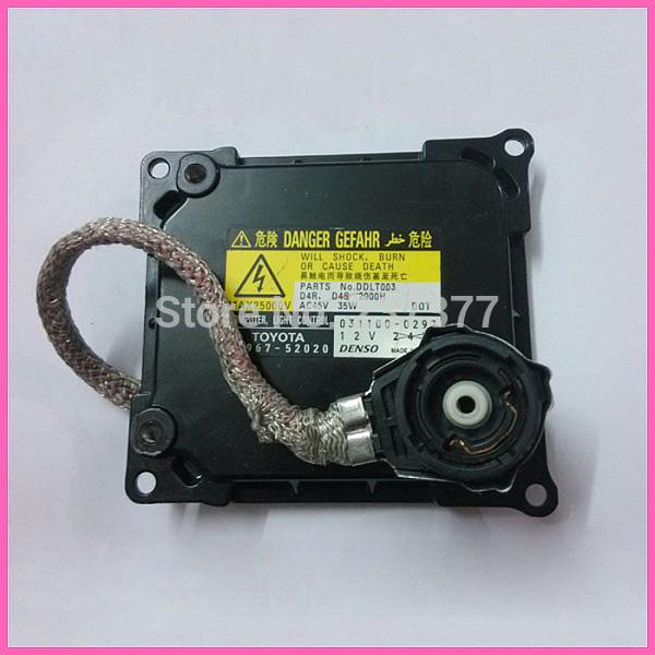 For Toyota Lexus Xenon Module Headlight Ballast Control Computer Unit DDLT003 D4R D4S 85967-52020(China (Mainland))
