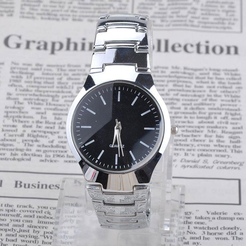 Overseas stock! Men Brand Full Stainless Steel Watch Sports Watches Casual Quartz Wristwatch zMHM518(China (Mainland))