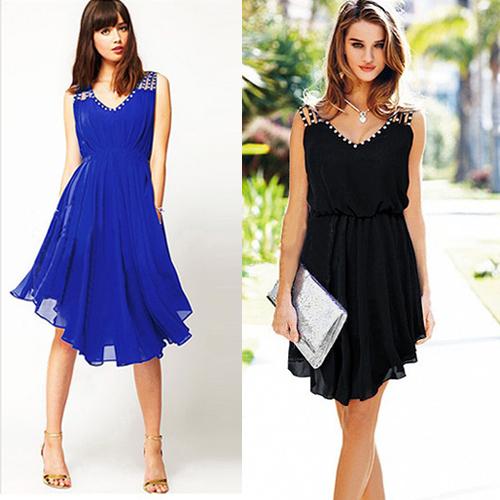 Женское платье / 2015 Vestidos V WQW433