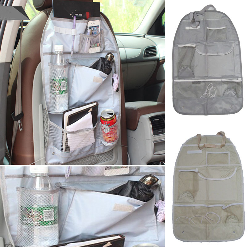 2015 Phone Cases Car Interior Accessories Auto Care Seat Covers Protector Storage Bag Pouch For Children Kick Mat Mud(China (Mainland))