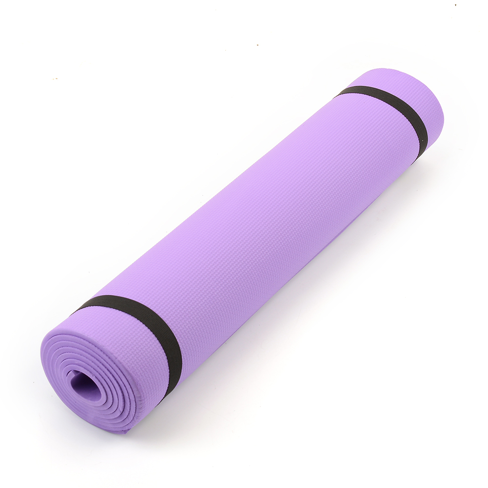 "68""x24""x0.24"" 6mm Thick Yoga Mat Pad Non-Slip Lose Weight Exercise Fitness Multicolor NEW Free Shipping(China (Mainland))"