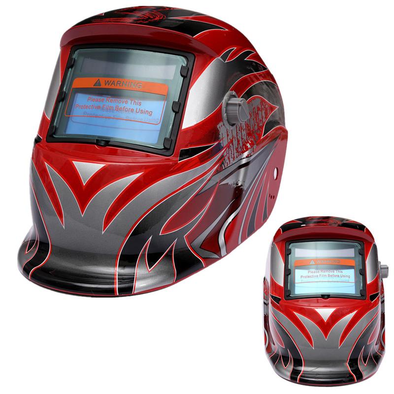 2015 Newest Adjustable Dual Liquid Crystal Pro Solar Auto Darkening Welding Helmet With Alarm Test Arc Tig Mig Grinding Mask(China (Mainland))