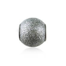 Wholesale Fashion DIY Unique Jewelry Loose Ball Grey Charm Beads fit for European pandora Bracelet Bangle Chain Necklace TZ227