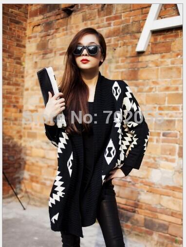 2015 new Cardigan Cape Knitting Coat lady Poncho shawl wraps Sweater #3635(China (Mainland))