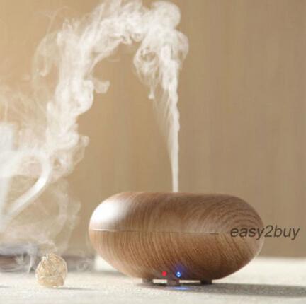GX-03K Ultrasonic Ion Humidifier Light/Dark Wood grain Aroma Air Aromatherapy Diffuser UK STOCK(China (Mainland))
