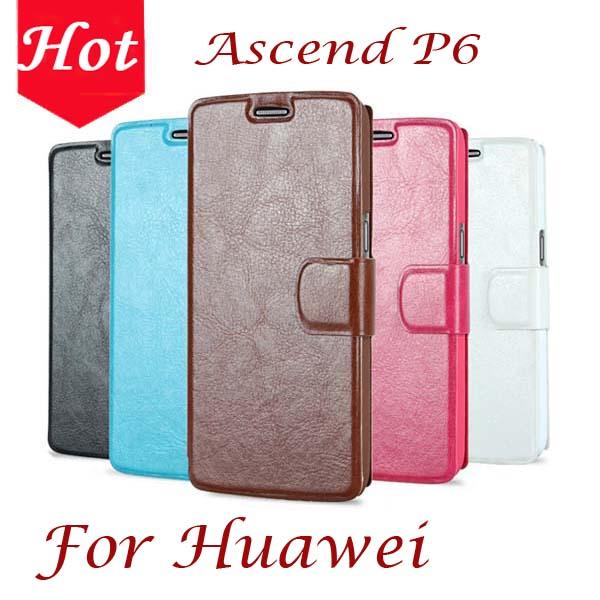 Huawei ascend p6 дело, Брендовые кожаные