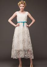 2015 New Arrival Women Summer Dress Vintage Patchwork Empire Chiffon Embroidery Vestido De Festa Desigual Evening Party Dress