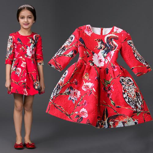 цены  Платье для девочек Brand new  HYF-DS03-08