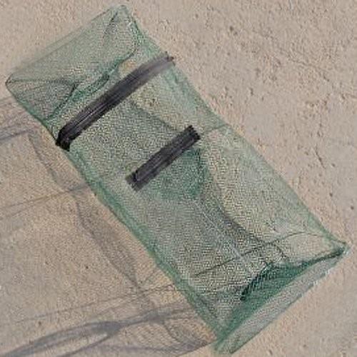 Hot Sale Foldable Crab Fish Crawdad Shrimp Minnow Fishing Bait Trap Dip Net Cage Fishing Net Nylon(China (Mainland))