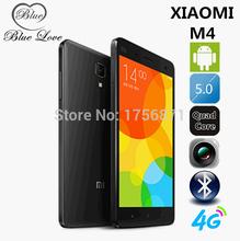 Free Shipping Original Xiaomi Mi4 M4 4G LTE Cell Phone 5.0″ FHD IPS Quad Core Snapdragon801 3GB RAM 64GB ROM MIUI V6 Android 4.4