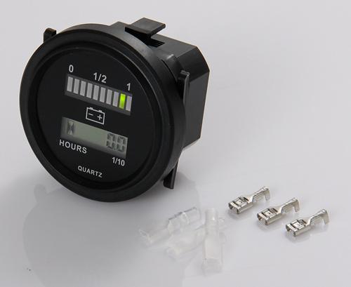 Digital LED State Battery Charge Indicator 12V&24V,24V,36V,48V,72V and LCD hour meter,new products(China (Mainland))