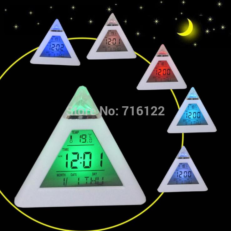 Будильник 7 C/F relogio/reloj despertador