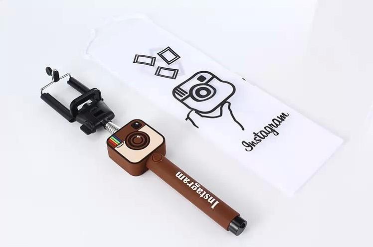 free shipping fashion series instagram bluetooth selfie stick remote contro. Black Bedroom Furniture Sets. Home Design Ideas