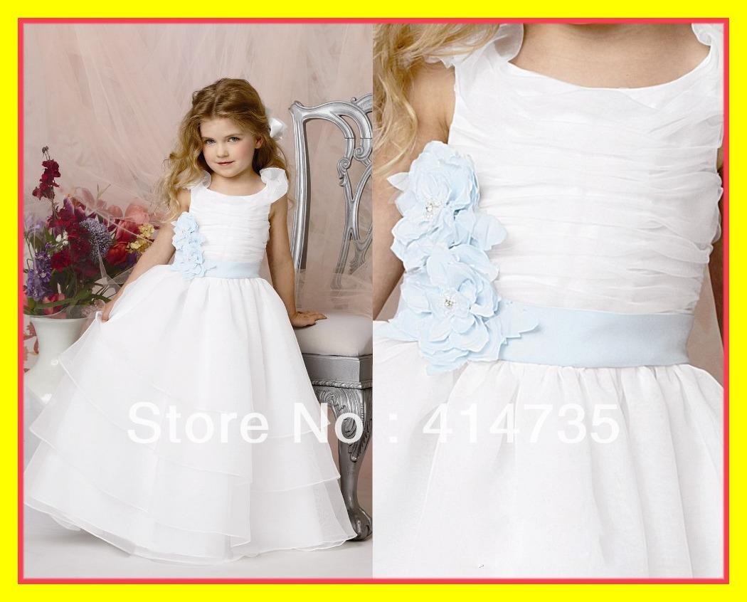 Cotton Flower Girl Dress Bonnie Jean Dresses Vintage Canada Second Hand Scalloped Spaghetti Straps Sleeveless Sashes 2015 Cheap(China (Mainland))