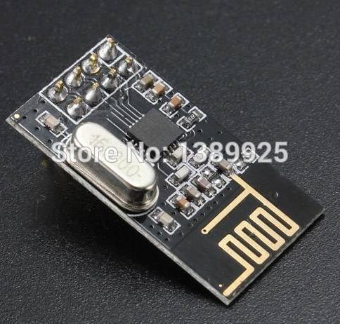 Free shipping 10Pcs x NRF24L01+ Wireless Module 2.4G Wireless Communication Module Upgrade Module with tracking NO.(China (Mainland))