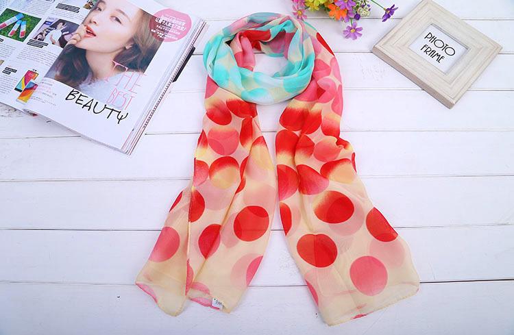 Floral printed chiffon Silk high fashion floral scarf Silk female wild long scarf design, silk shawl scarf shawl free shipping(China (Mainland))