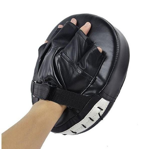 produto Fashion Boxing Mitt Training Target Focus Punch Pads Gloves MMA Karate Combat Thai Kick PU Foam Material