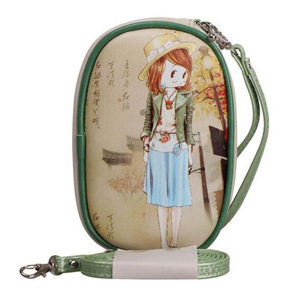 W23 Brands Betty Boop Lady Famous Designer Women Wallets Purse Card Holder Clutch Double Zipper Long Wallet Bolsos Walet Female(China (Mainland))