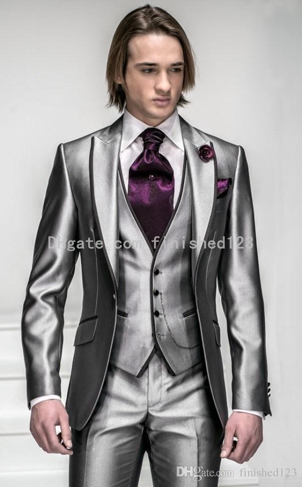 Mens Silver Suits For Weddings Men 39 s Wedding Suits Best