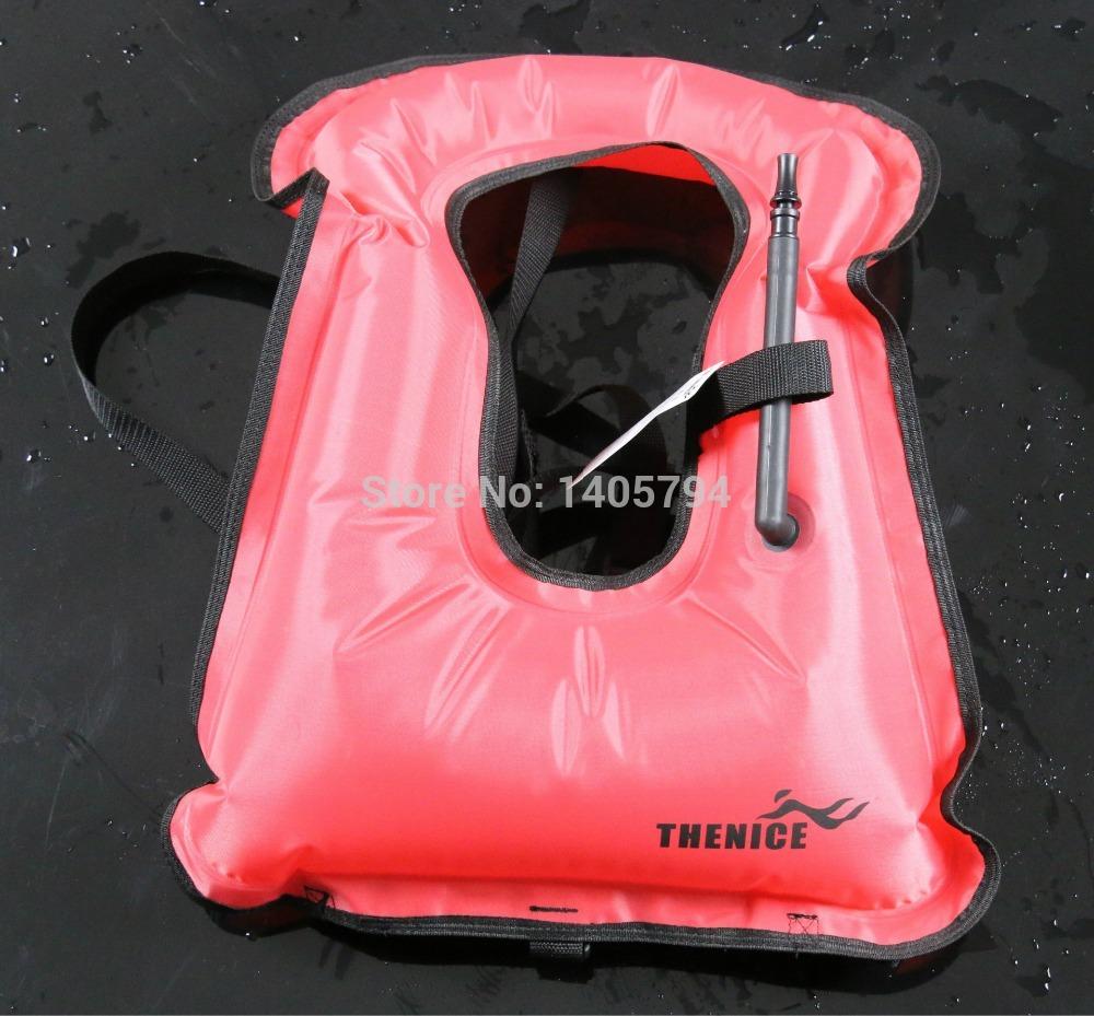 Snorkel Vest Co2 1piece Inflatable Snorkel Vest