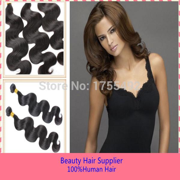 Malaysian Virgin Body Wave Hair Weaves 6A Grade Human Unprocessed Hair Weaving 100%Real Remi Malaysian Hair Extension 2pcs lot(China (Mainland))