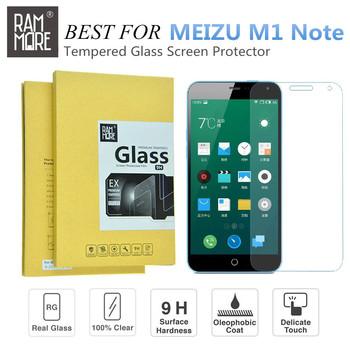 Новый Rammore 0.2 мм ультра тонкий премиум закаленное стекло протектор экрана для Meizu M1 примечание / MEILAN царапинам защитная пленка