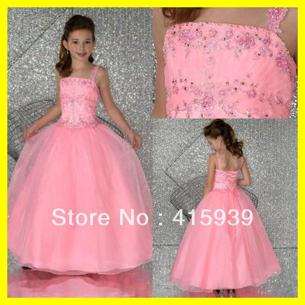 Junior Flower Girl Dresses Kids Tutu How To Make Dress Toddler Formal Spaghetti Straps Sleeveless Beading A-Line F 2015 In Stock(China (Mainland))