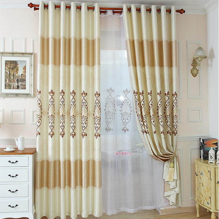 Compra comedor cortinas de la sala online al por mayor de - Cortinas salon moderno ...