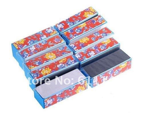 Promotioning,free Shipping 12sets/lot Buffer Sanding Files Nail Art Manicure,drawing price(China (Mainland))