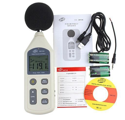 Цифровой шум тестер давления