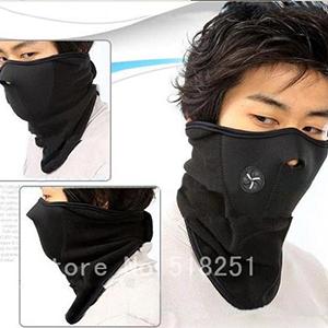 Wholesale 2pcs/lot Outdoor Sport Winter Ski Warm Face Mask Cycling Sport Bike Motorcycle Mask Skiing Snowboard Neck Skull Masks(China (Mainland))