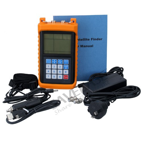 SAVEBASE Pro Digital Satellite Finder Sat Signal Meter MF-1900 High-performance Brand NEW(China (Mainland))