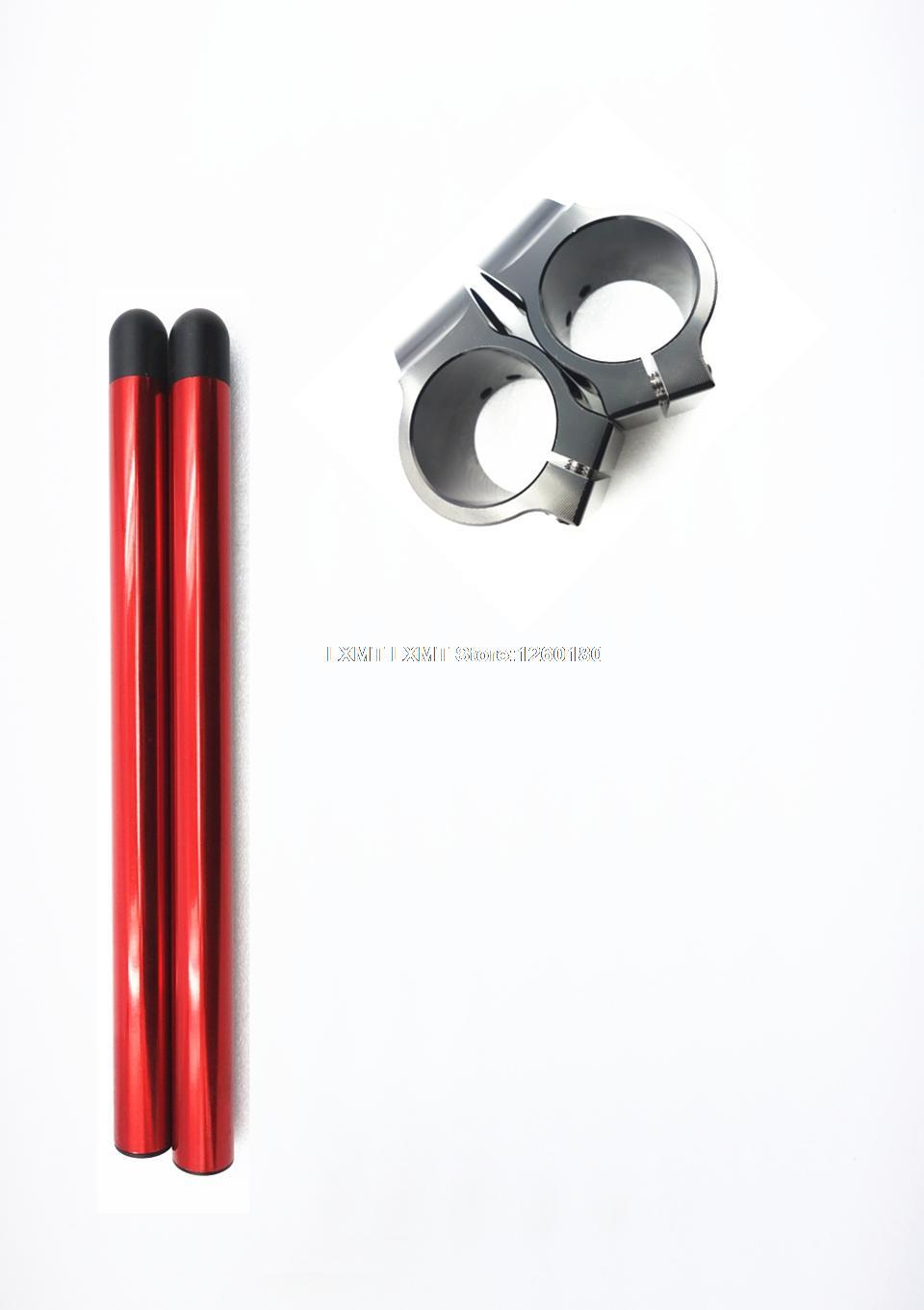 Billet Higher Raised Raised Clip On Ons Clipon Fork Handle Bars fit MASSEY FERGUSON MF 700 D/4WD Auto (686cc Diesel) 2005 - 2008(China (Mainland))