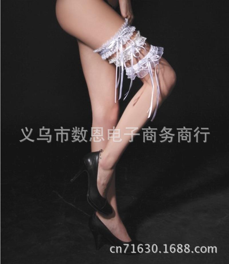 lace bridal garter wedding garter set leg garter belt sexy lingerie garter set hot sale(China (Mainland))