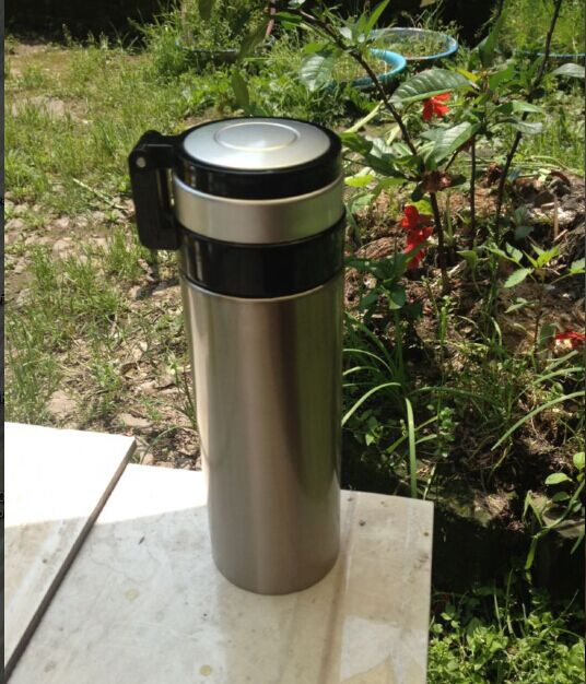 500MLthermos for food thermos Vacuum thermoses vacuum thermos cup thermal mug sport stainless steel vacuum flask Package mail(China (Mainland))