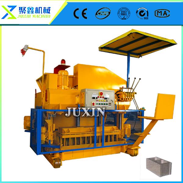 egg laying bricks forming machine / auto brick manufacturers / cadona 1600s mobile block machine(China (Mainland))