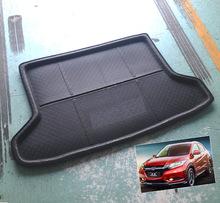 FIT FOR 2014 2015 2016 HONDA HR-V VEZEL HRV BOOT MAT REAR TRUNK LINER CARGO FLOOR TRAY PROTECTOR CARPET Accessories(China (Mainland))