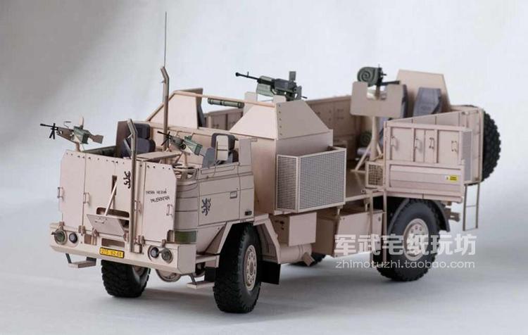 Czech T815 ER45 4X4 Armed trucks Papler Model Do It Yourself DIY(China (Mainland))