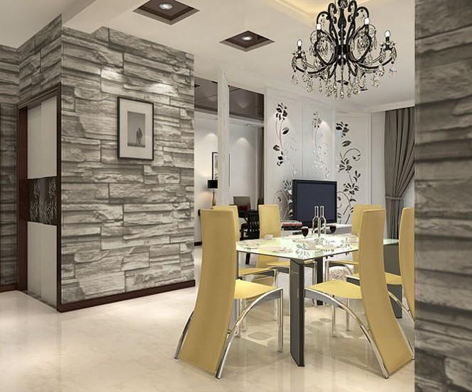 Design Behang Woonkamer : Modern Living Room Wall Vinyl Designs