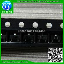 Free shipping 100pcs BC847C SOT-23 Original NPN transistor SOT23 BC847 Transistor Diodes SMD NPN general purpose transistors