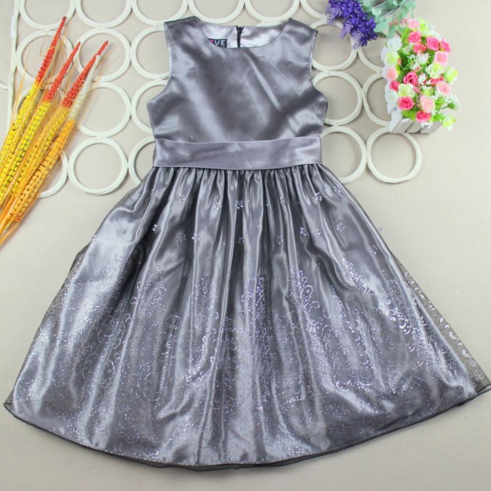 Toddler Girls Princess Dress Floral Wedding Dress vestidos infantis Ball Gown Kids Formal Clothes 2015 Summer Dress Brand EDS025(China (Mainland))