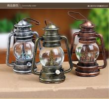 LED New ideas to restore ancient ways kerosene lamps Luminous crystal ball tower art furnishing articles(China (Mainland))