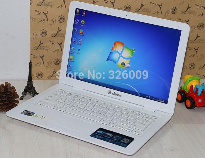 New 14 inch Notebook Netbooks laptop PC, Intel Celeron J1800 2.41Ghz 2GB DDR3 250GB HDD WIFI HDMI webcam, Dere J1800(China (Mainland))