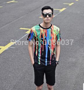 Мужская футболка --- 2015 , LM0473 футболка мужская neil barrett fa01 2015