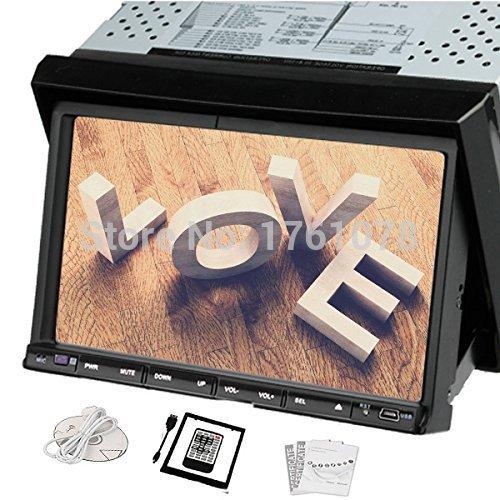 7 inch Car DVD Video Audio Player In Dash Car PC Double 2 Din Car Stereo Radio Headunit Bluetooth BT GPS(Optional) Ipod SD/USB(China (Mainland))