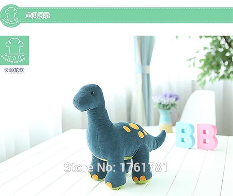 Plush cloth art toy long neck dragon dinosaur plush dolls, children children's day or birthday gift(China (Mainland))