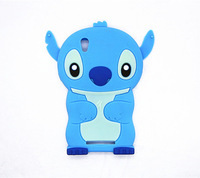 Lovely Stitch 3D Silicone Case For  ZTE ZMAX Z970  High Quality Cell Phone Case Silicone