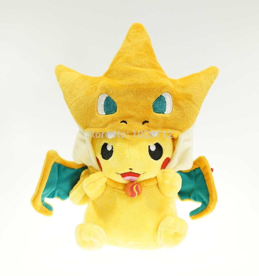 Плюшевая игрушка Pokemon Pikazard Pikachu Charizard lno 217pcs charizard pokemon building block